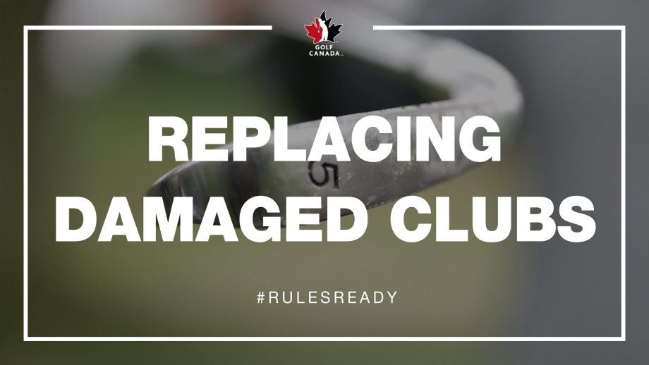 Replacing Damaged Golf Clubs