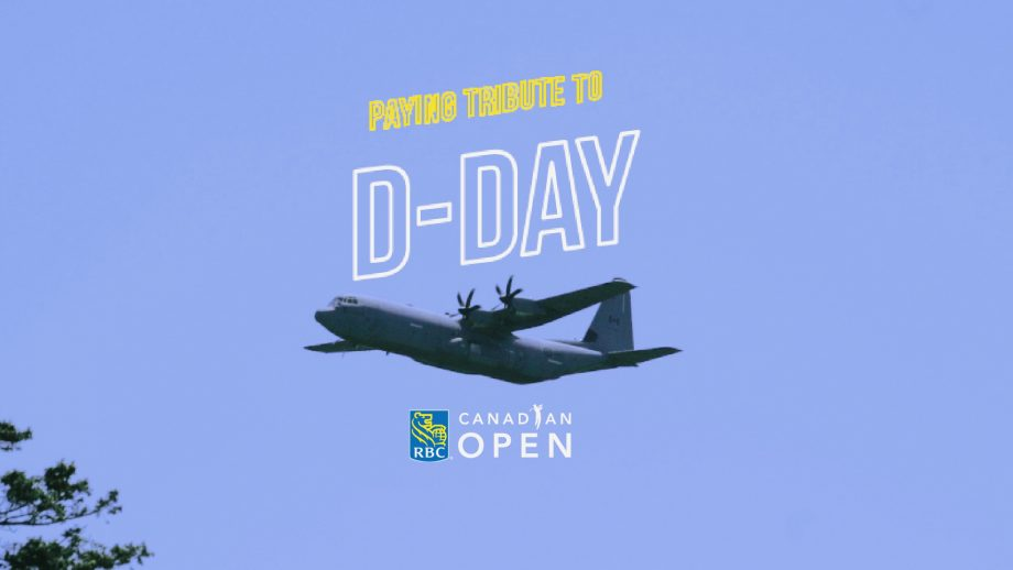 Paying tribute to D-Day at the RBC Canadian Open