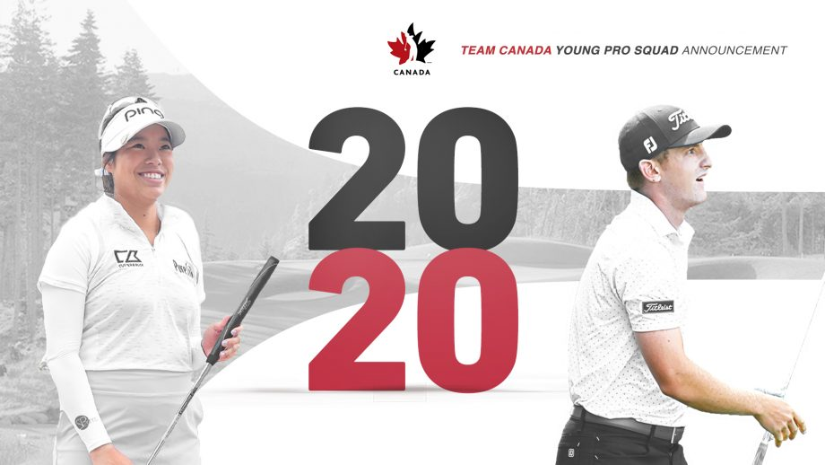 2020 Team Canada Young Pro Golf Squad
