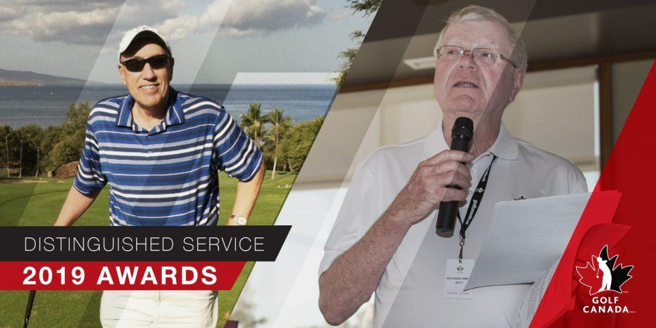 2019 Distinguished Service Awards – Golf Canada
