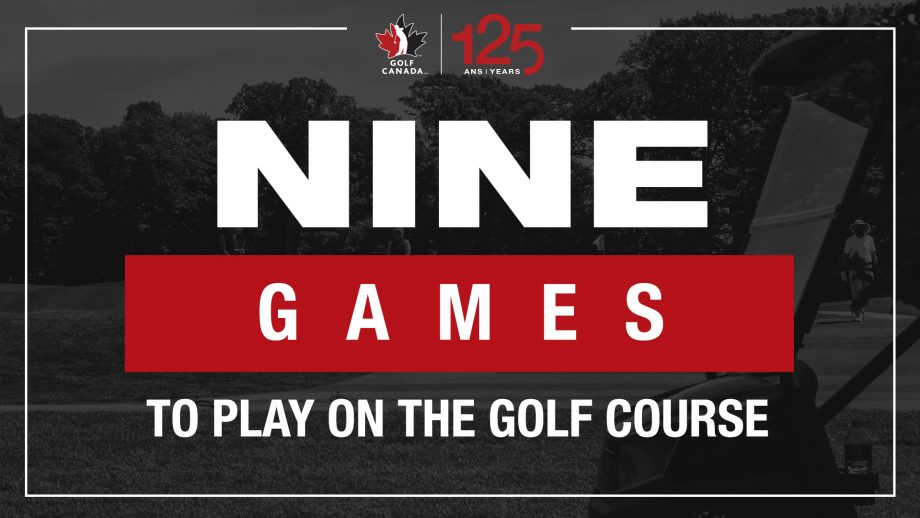 Nine different games to play on the golf course